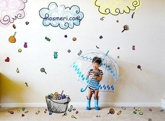 ایده هایی برای گرفتن عکس خلاقانه از کودک