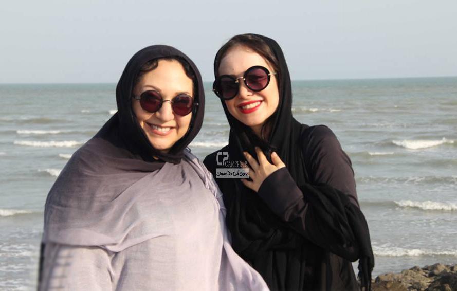 الناز حبیبی و مریم سعادت