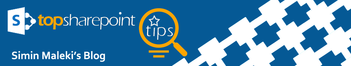 SharePoint 2013 Tips and Tricks