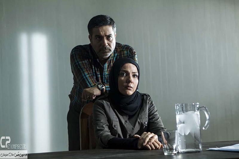 حمید رضا پگاه و سارا ناز پرور بازیگران سریال زاویه هفتم