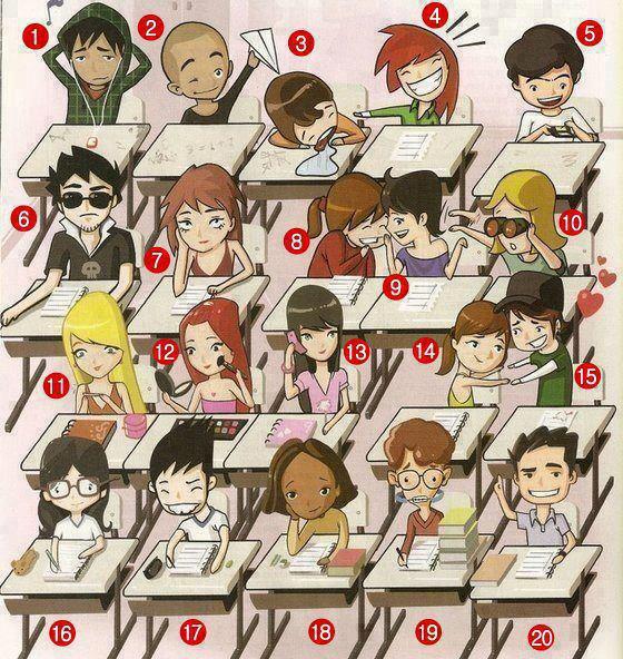 توی کلاس شما شبیه کدوم هستی؟ 1