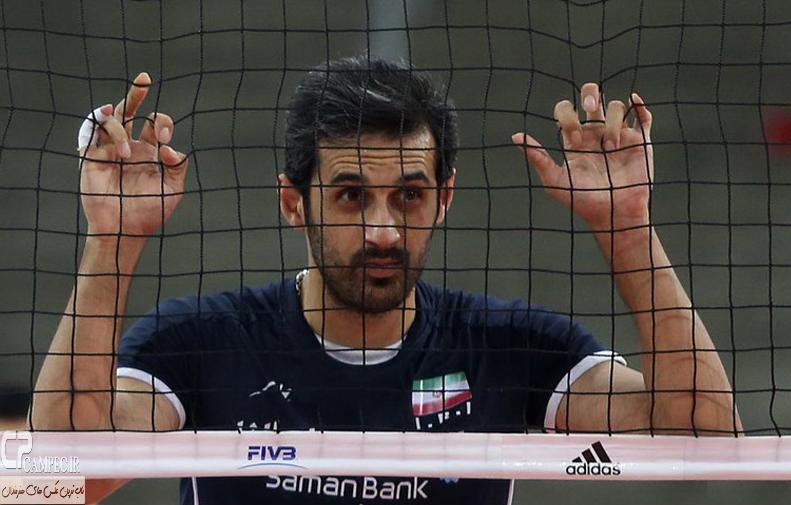 عکس های مسابقه واليبال ایران وصربستان