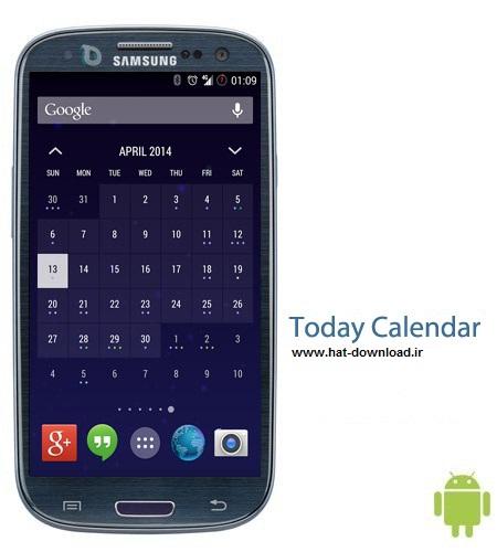 Today Calendar Pro v1.29 نرم افزار تقویم Today Calendar Pro v1.29 – اندروید