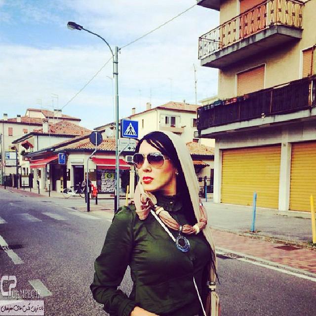 لیلا بلوکات در ونیز ایتالیا