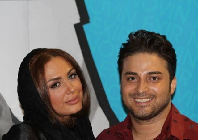 عکسهای بابک جهانبخش و همسرش مروارید