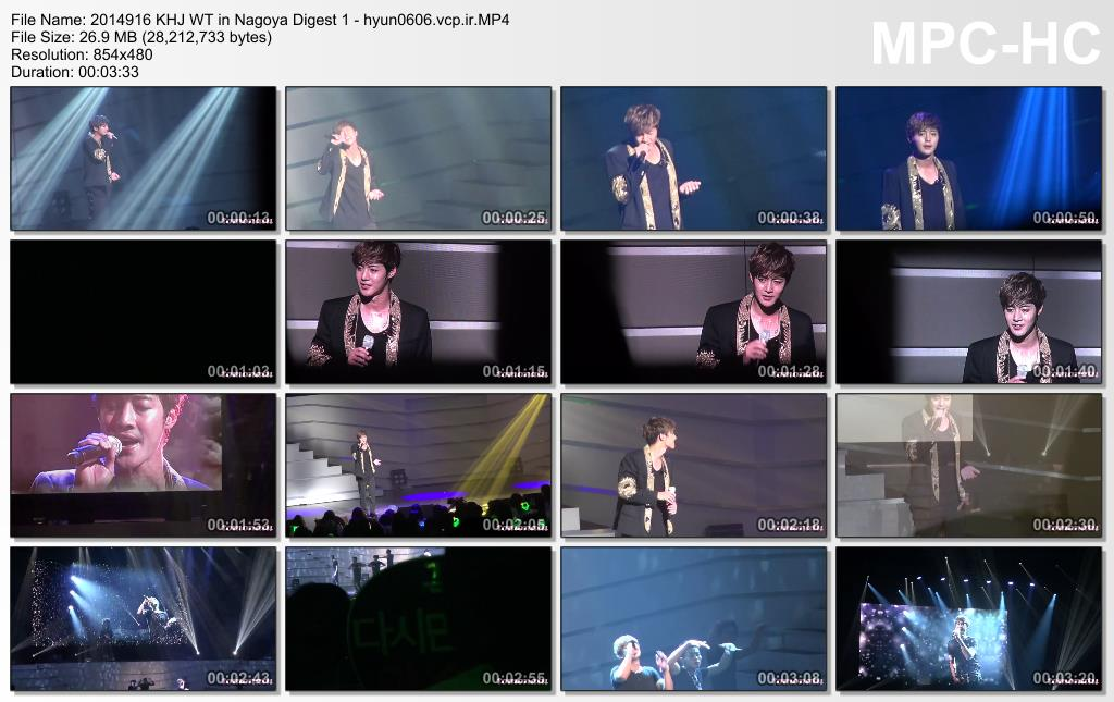 [tomonatu1 Fancam] Kim Hyun Joong 2014 Phantasm World Tour in Nagoya [2014.09.16]