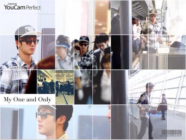 [HD Photos] Kim Hyun Joong - Nagoya Airport Departure to Korea [14.09.17]