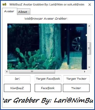 WildBuzZ Avatar Grabber By: Lari@nim or Soh,eil@nim Av1