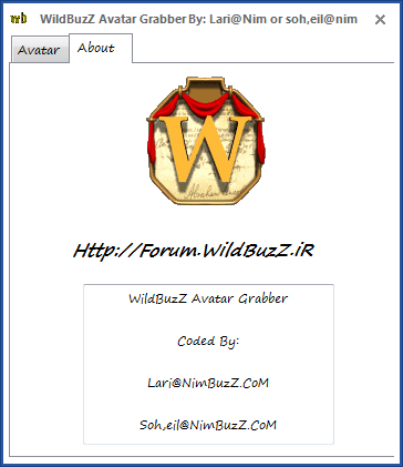WildBuzZ Avatar Grabber By: Lari@nim or Soh,eil@nim Av2
