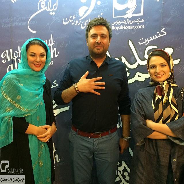 لاله اسکندری و گلاره عباسی و محمد علیزاده