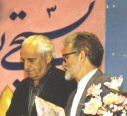 دکتر حسین محمدزاده صدیق و دکتر محمد تقی زهتابی
