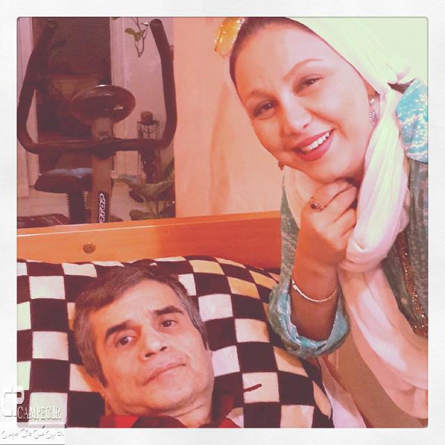 بهنوش بختیاری و اصغر شاهرودی