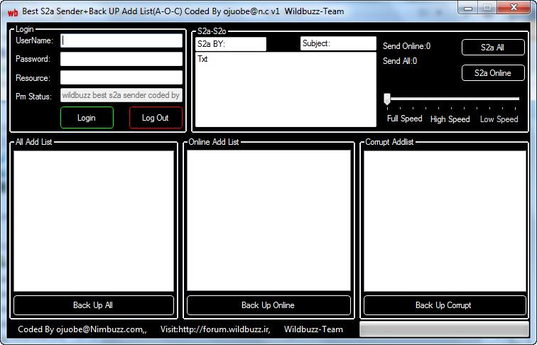 wildbuzz-team best s2a sender+back up add list(a-o-c) v1 coded by ojuobe@n.c  2014_09_20_041034