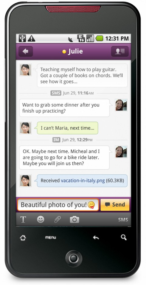Yahoo Messenger Android Apps on Google Play