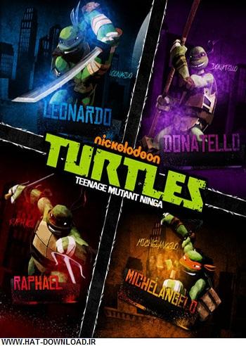 TMNT 2012 season 2 cover دانلود فصل دوم انیمیشن لاک پشت های نینجا   Teenage Mutant Ninja Turtles Season 02 2013