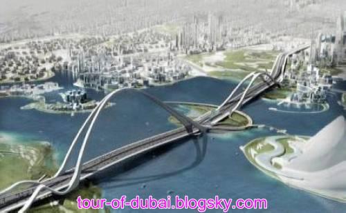 در تور دبی بزرگترین پل قوسی دنیا را نیز ببینید