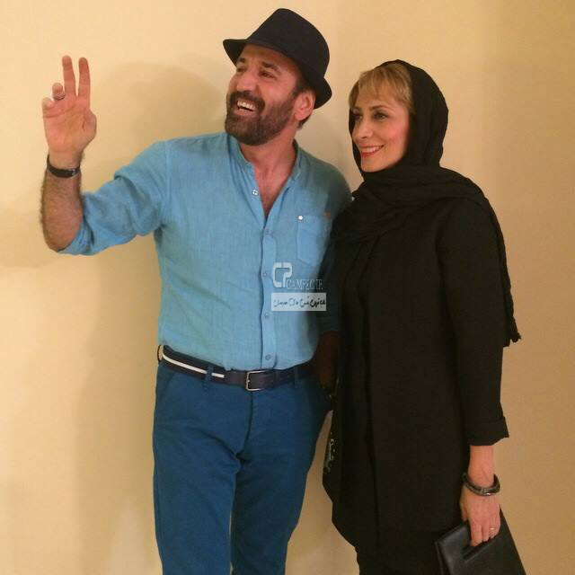 صالح آقا میرزایی و همسرش
