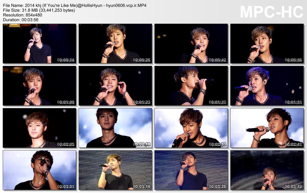 [HollisHyun Fancam] Kim Hyun Joong 2014 Phantasm World Tour in Nagoya [2014.09.16]