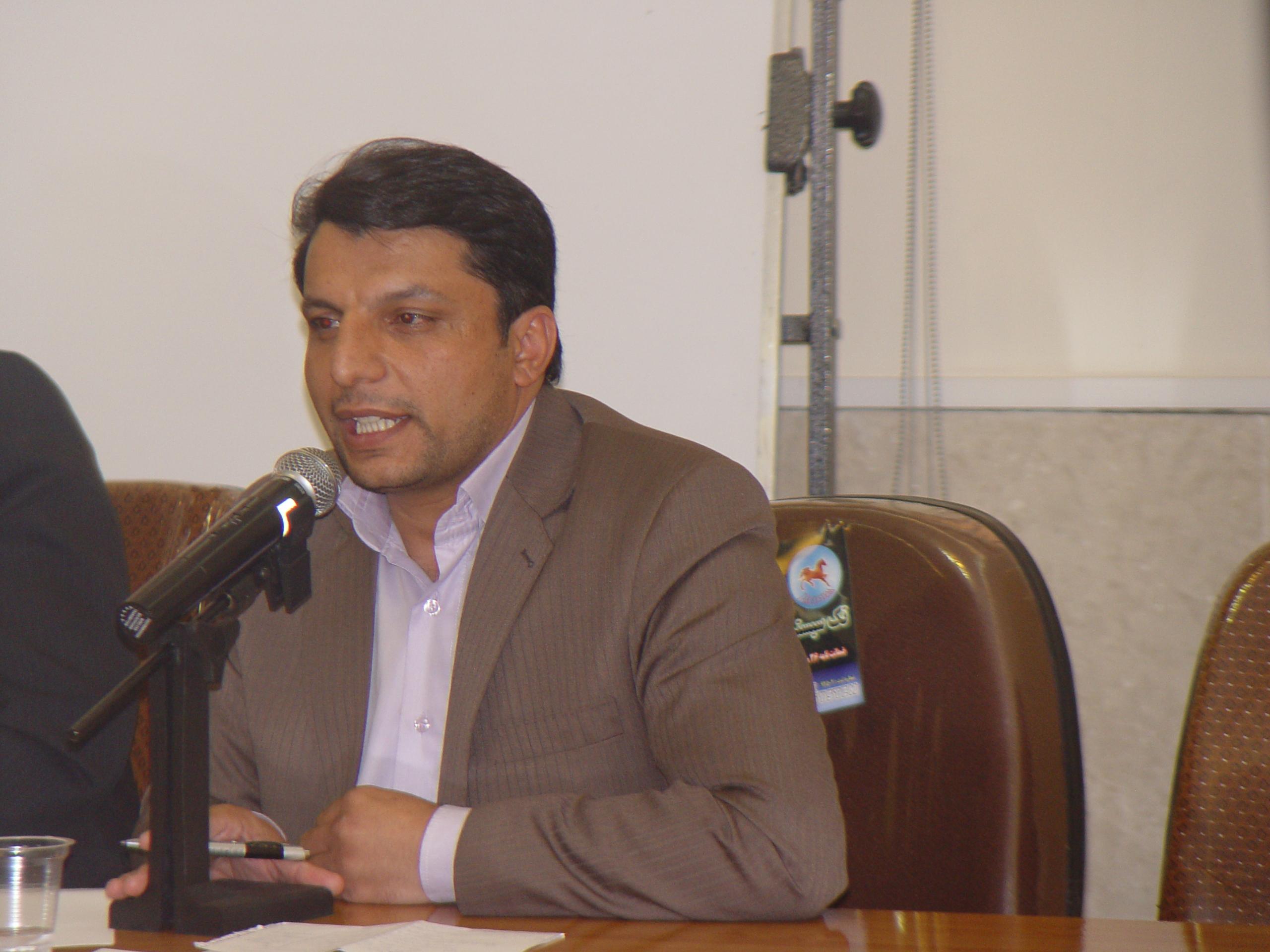 علی اکبر محمدی الموتی معاون اداری مالی دانشگاه فرهنگیان قزوین