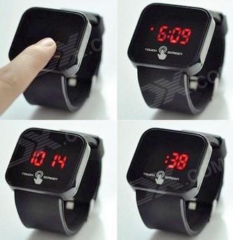 خرید اینترنتی ساعت مچی اسپرت LED تاچ اسکرین 2014