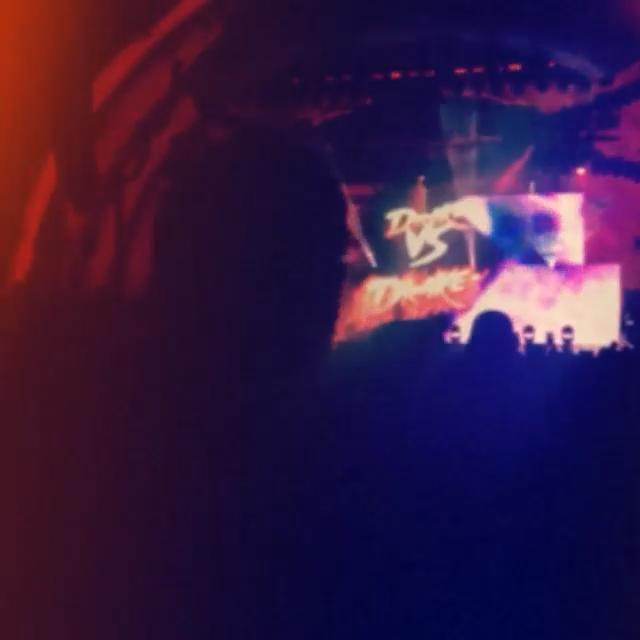 سلنا و جاستین در کنسرت دریک