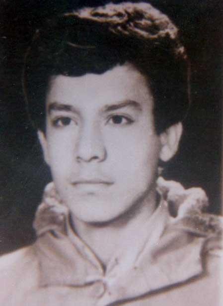 عکسی از جوانی سردار شهید جواد قنبری قاضی جهانی