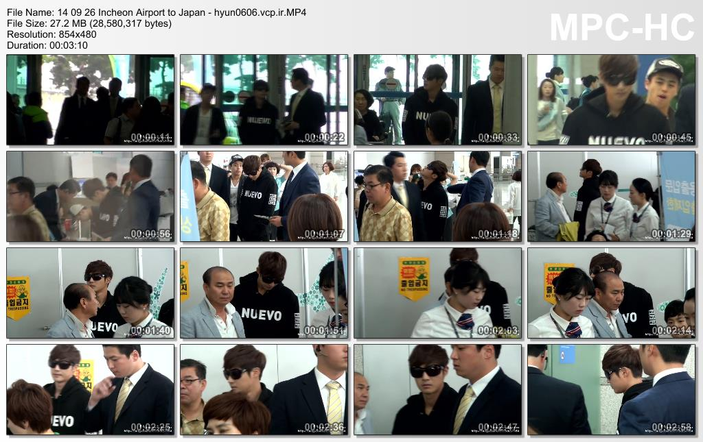 [HyunJoong Baraba Fancam] Kim Hyun Joong - Incheon Airport Departure to Japan [14.09.26]