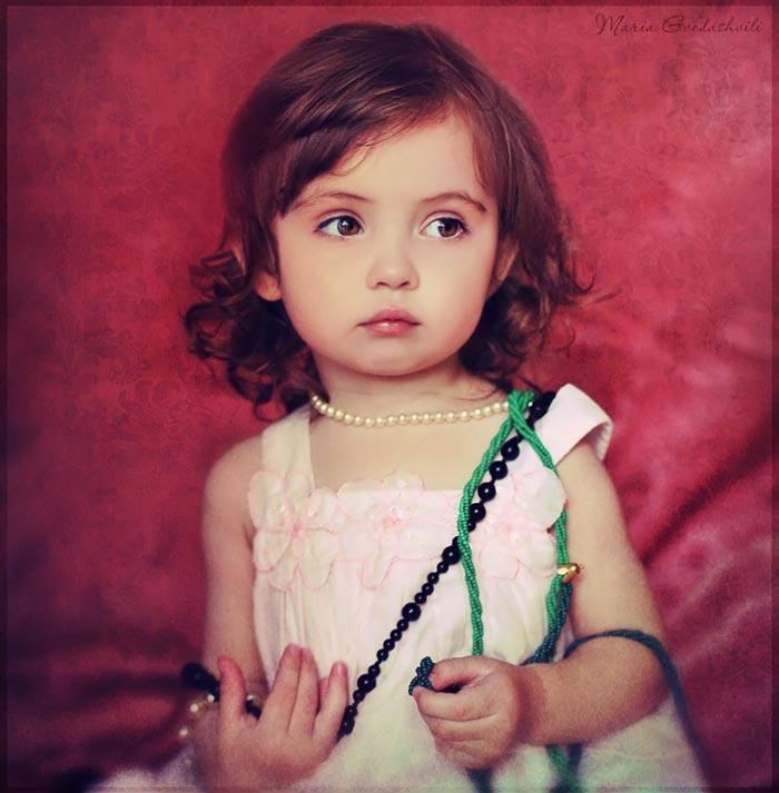 نازترین و خوشگل ترین دختران کوچولوی جهان