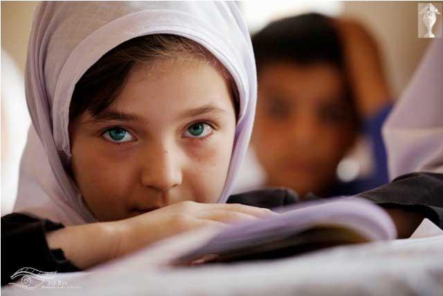 عکس خوشگل ترین دختر بچه افغانی