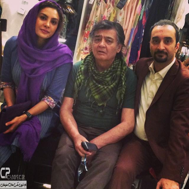 حدیثه تهرانی و رضا رویگری