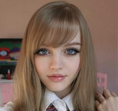 زیباترین دختر باربی جهان