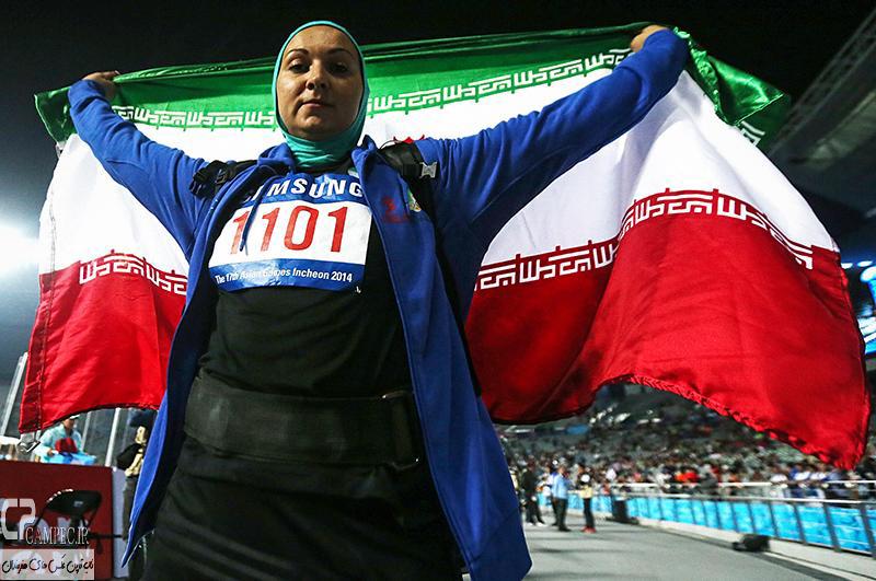 عکس های ورزشکاران ایرانی در بازیهای آسیایی اینچئون
