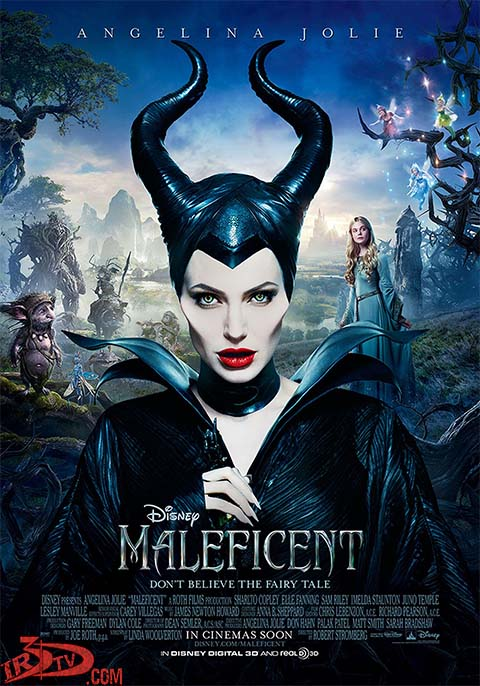 دانلود فیلم سه بعدی maleficent 2014 3D