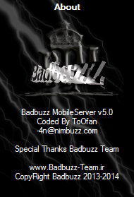 badbuzz mobile server v5 60