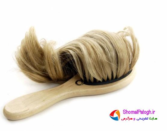 چگونه موهایمان را شانه کنیم؟
