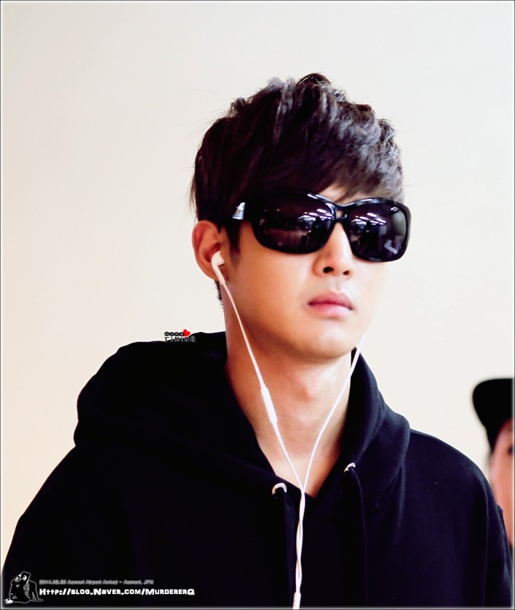 Kim Hyun Joong - Arrival at the airport of Aomori, Japan - 14.09.26