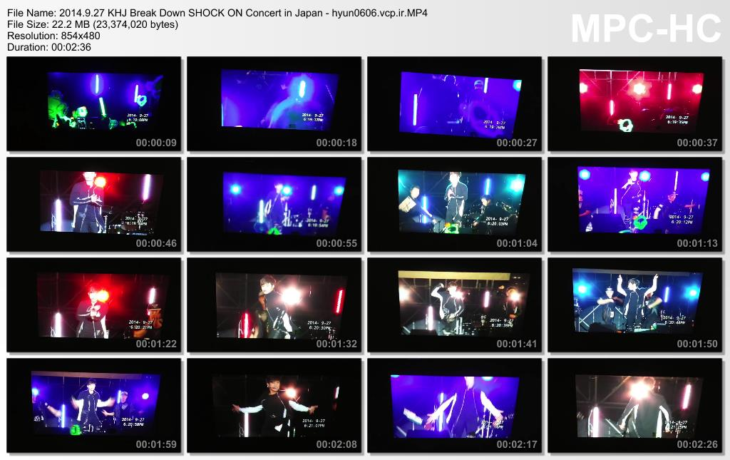 [09Lmj Fancam] Kim Hyun Joong - AOMORI SHOCK ON Concert in Japan [14.09.27]
