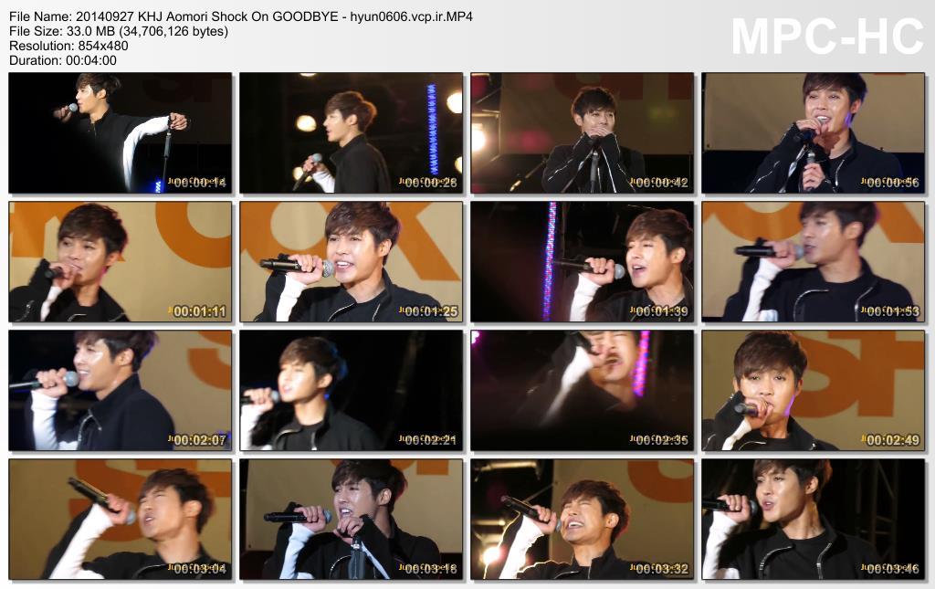 [June Chapelle Fancam] Kim Hyun Joong - AOMORI SHOCK ON Concert [14.09.27]