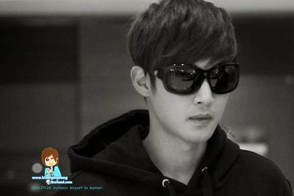 [khjthailand Photo] Kim Hyun Joong - Incheon Airport Departure to Japan [14.09.26]