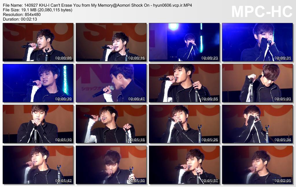 [HollisHyun Fancam] Kim Hyun Joong - AOMORI SHOCK ON Concert [14.09.27]