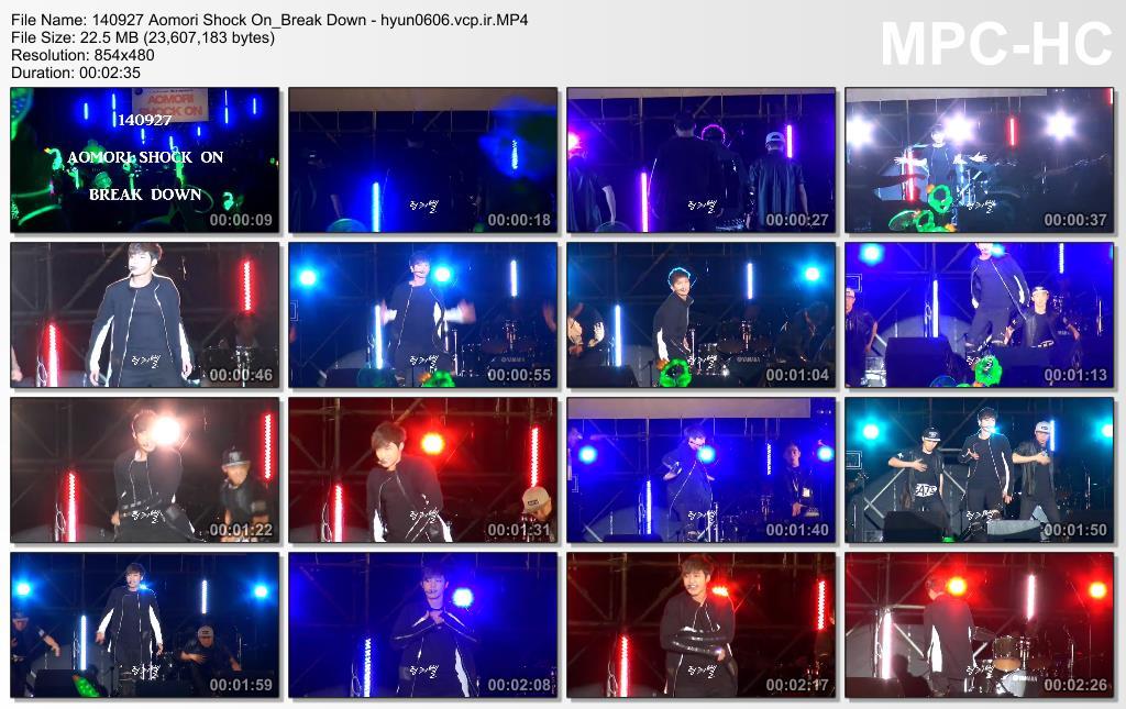 [joyful860606 Fancam] Kim Hyun Joong - AOMORI SHOCK ON Concert [14.09.27]
