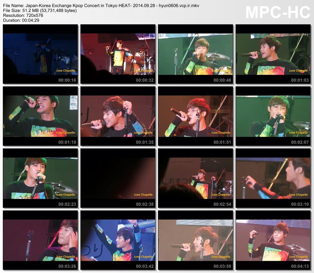 Kim Hyun Joong Japan-Korea Exchange Kpop Concert in Tokyo HEAT- 2014.09.28