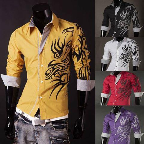 مدل جدید پیراهن مردانه 2015