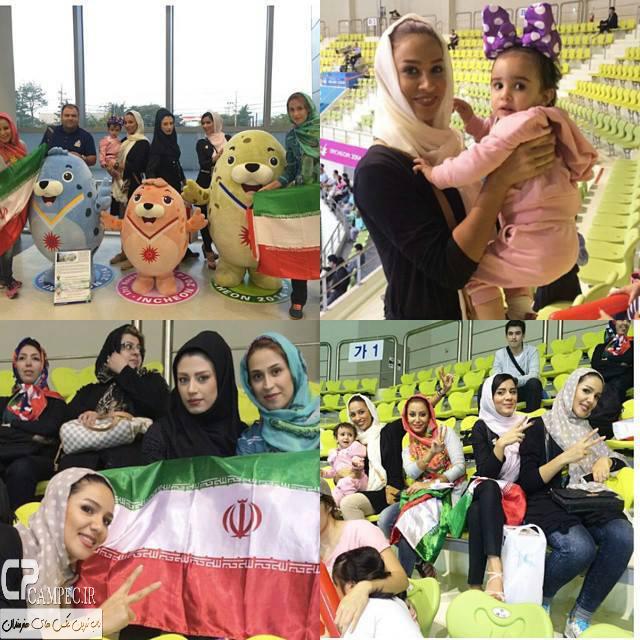 همسران بازیکنان تیم ملی والیبال ایران