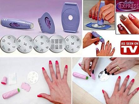 فروش دستگاه ست طراحی ناخن سالن اکسپرس زنانه