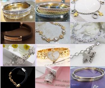 خرید پستی انواع دستبند و النگو ها برای بانوان