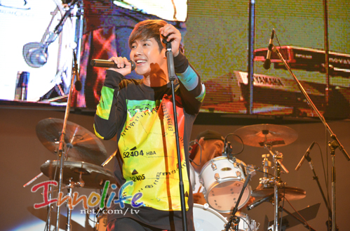 [innolife Photo] Kim Hyun Joong - Japan-Korea Exchange Festival K-POP Concert in Tokyo [14.09.28]