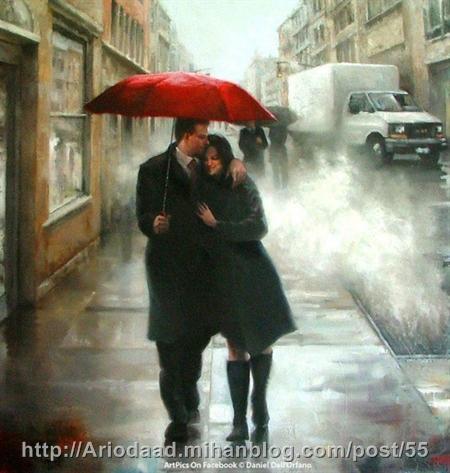 باران پاییز عاشقانه - آریوداد