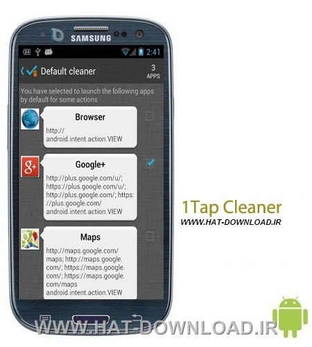 1Tap Cleaner Pro v2.34 نرم افزار پاک سازی کش ها 1Tap Cleaner Pro v2.34 – اندروید