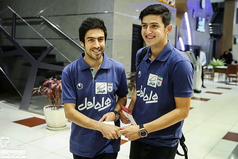 عکس های عزیمت تیم ملی فوتبال ایران به پرتغال